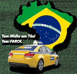 Tem Mídia em Táxi, tem FAROL!