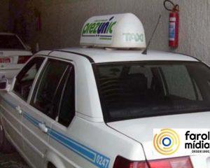 o supermercado Prezunic utiliza a midia ooh com produto taxi door
