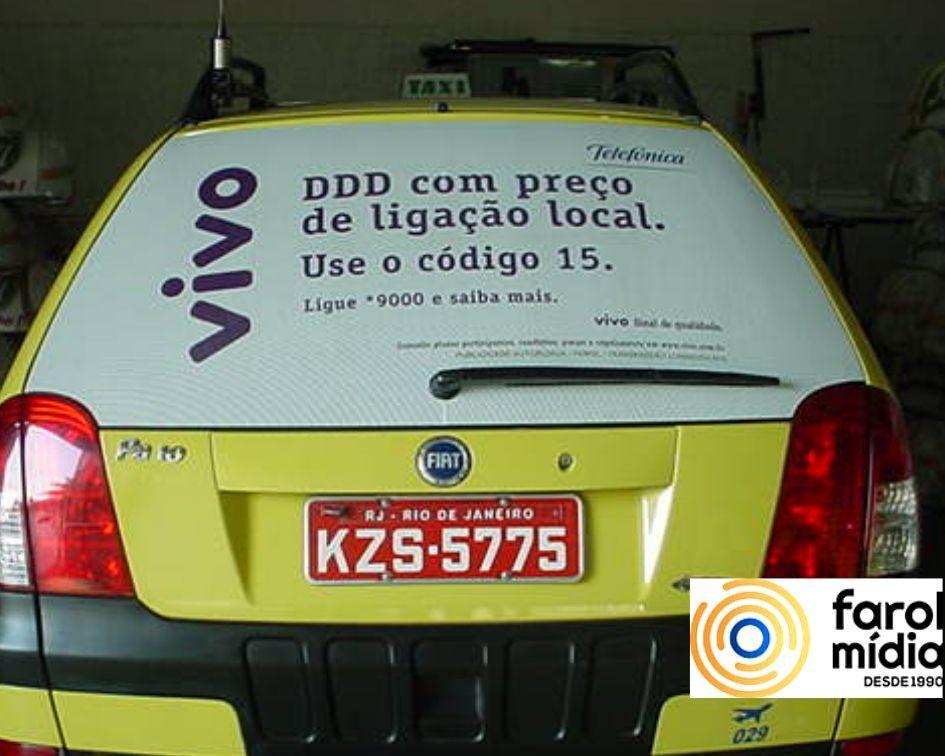 A Operadora Vivo nos taxidoor