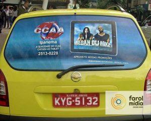 CCAA novamente na mídia em táxi