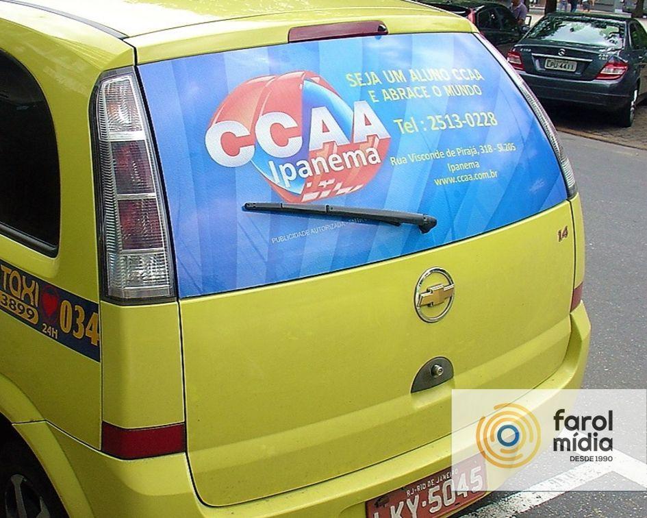 CCAA na mídia exterior