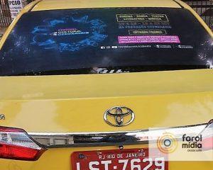 Fundação Cesgranrio na mídia em táxi